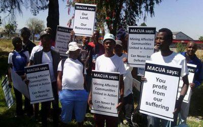 Macua warn of looming protest around Xolobeni consultation